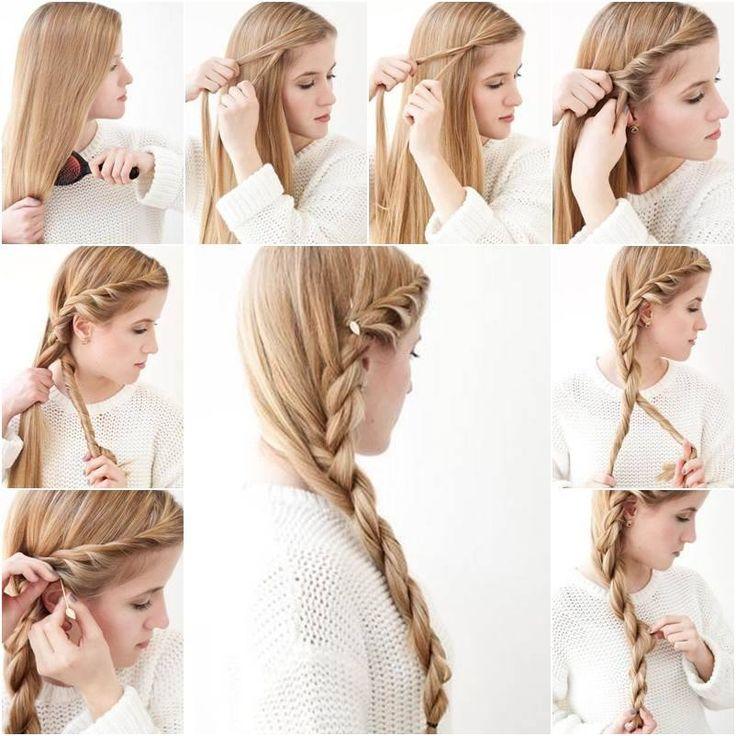 434 best Hairstyle/Hairdo Tutorials images on Pinterest   Hair dos ...
