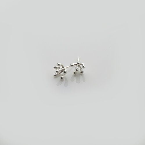 Handmade Irish Silver Designer Stud Earrings