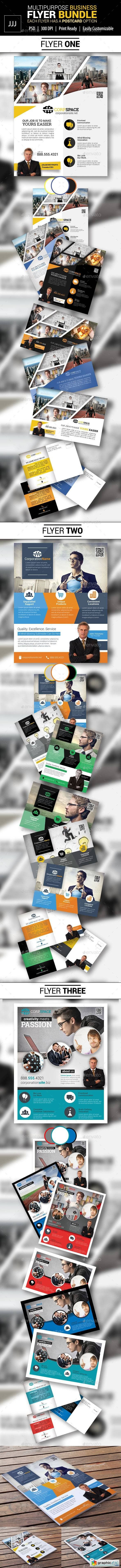 Business Flyer Bundle with Postcard Options