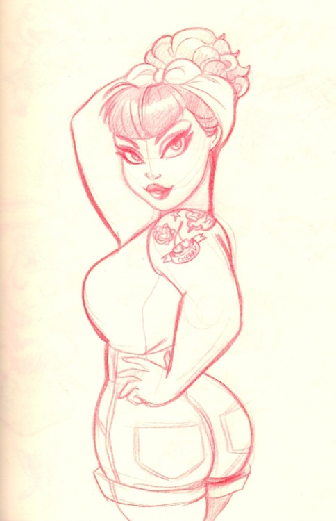 melissa ballesteros Rockabilly sketch