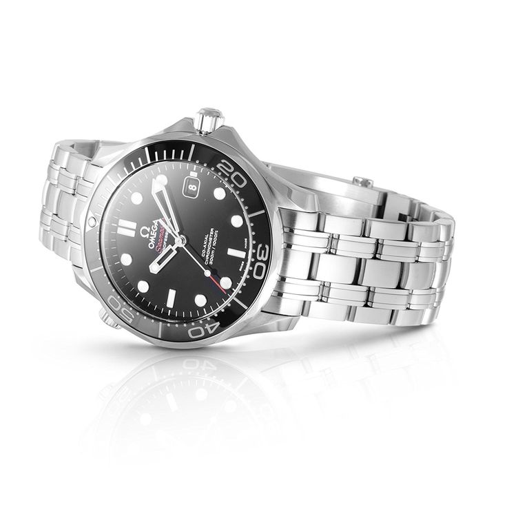 Amazon|[オメガ]OMEGA 腕時計 シーマスター300M ブラック文字盤 自動巻 300M防水 212.30.41.20.01.003 メンズ 【並行輸入品】|海外ブランド 通販