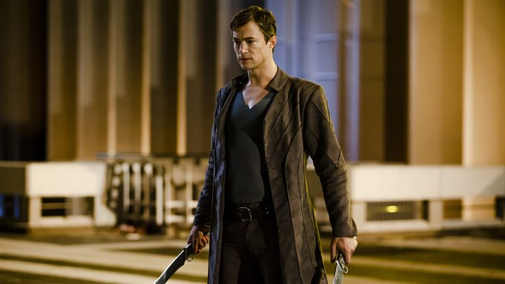Tom Wisdom as Michael, from DOMINION. Link leads to io9.com; watch the introduction if you haven't seen it yet.