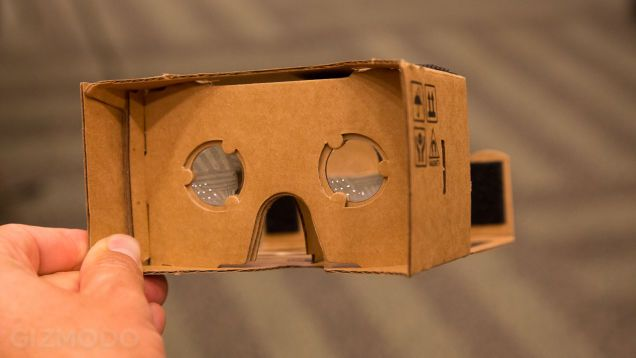Google Cardboard Turns Your Android Into a DIY Virtual Reality Headset http://gizmodo.com/turn-your-android-into-a-virtual-reality-headset-with-g-1596026538
