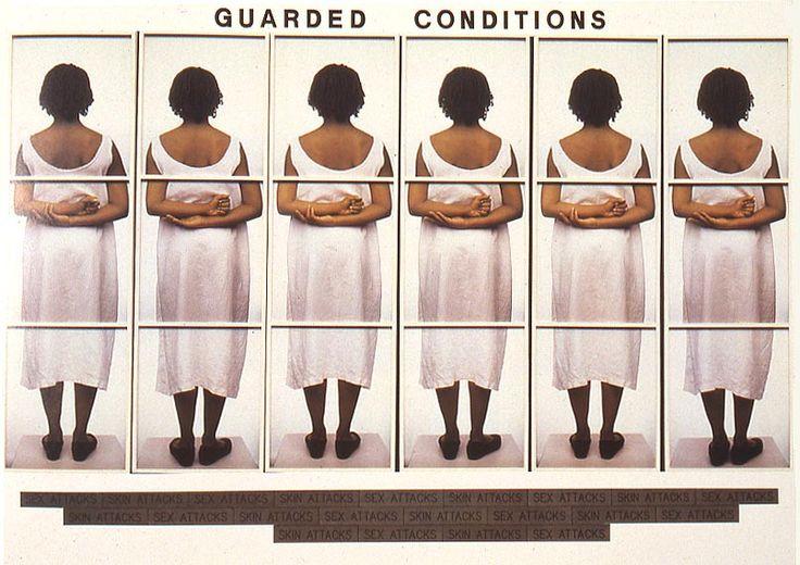 "Lorna Simpson  ""Guarded Conditions""  1989: Art Books, Simpsons Guard, Contemporary Art, 1989, Lorna Simpsons, Arte Arte"