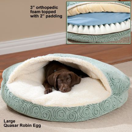 Luxury Orthopedic Cozy Cave Dog Bed