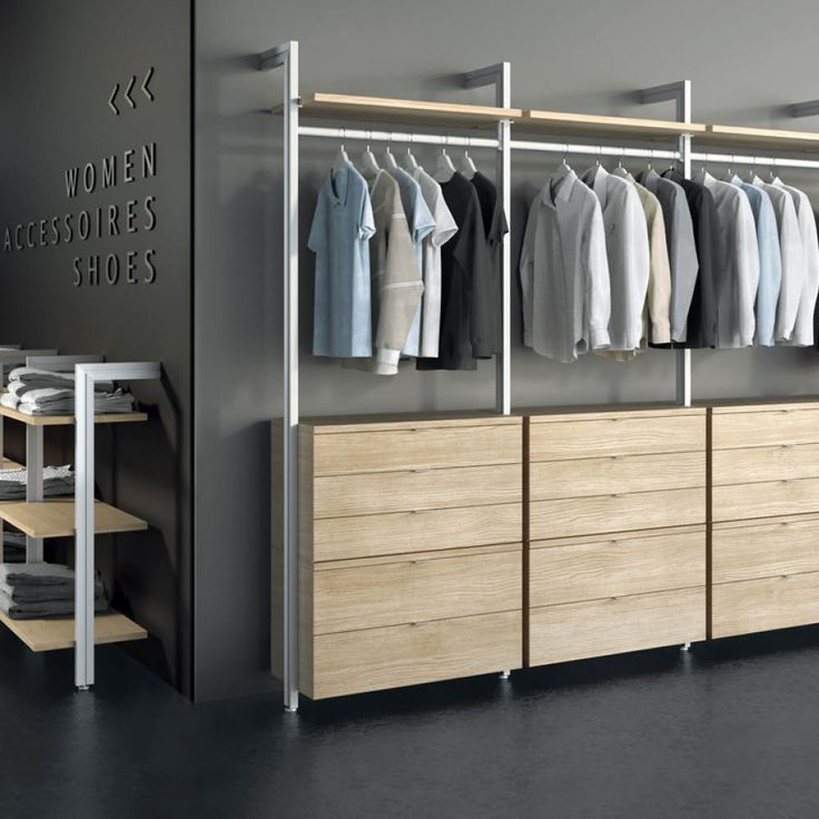 die besten 25 regalsysteme kleiderschrank ideen auf pinterest regalsysteme. Black Bedroom Furniture Sets. Home Design Ideas