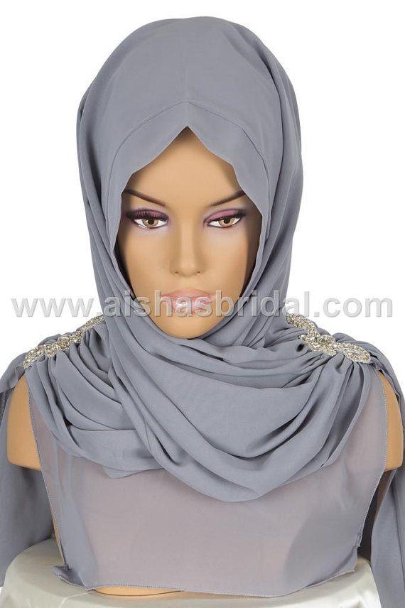 Shawl Code: AS-0014  muslim women hijab scarf by HAZIRTURBAN