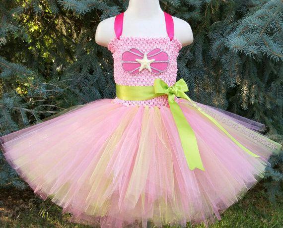 Pick Your Colors Mermaid Tutu Dress Mermaid by TutuOclockSomewhere