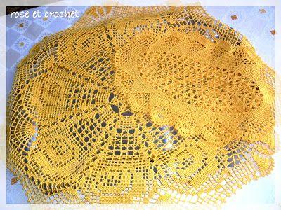 szydełkowanie i barwna codzienność...: 15. Żółte róże ...