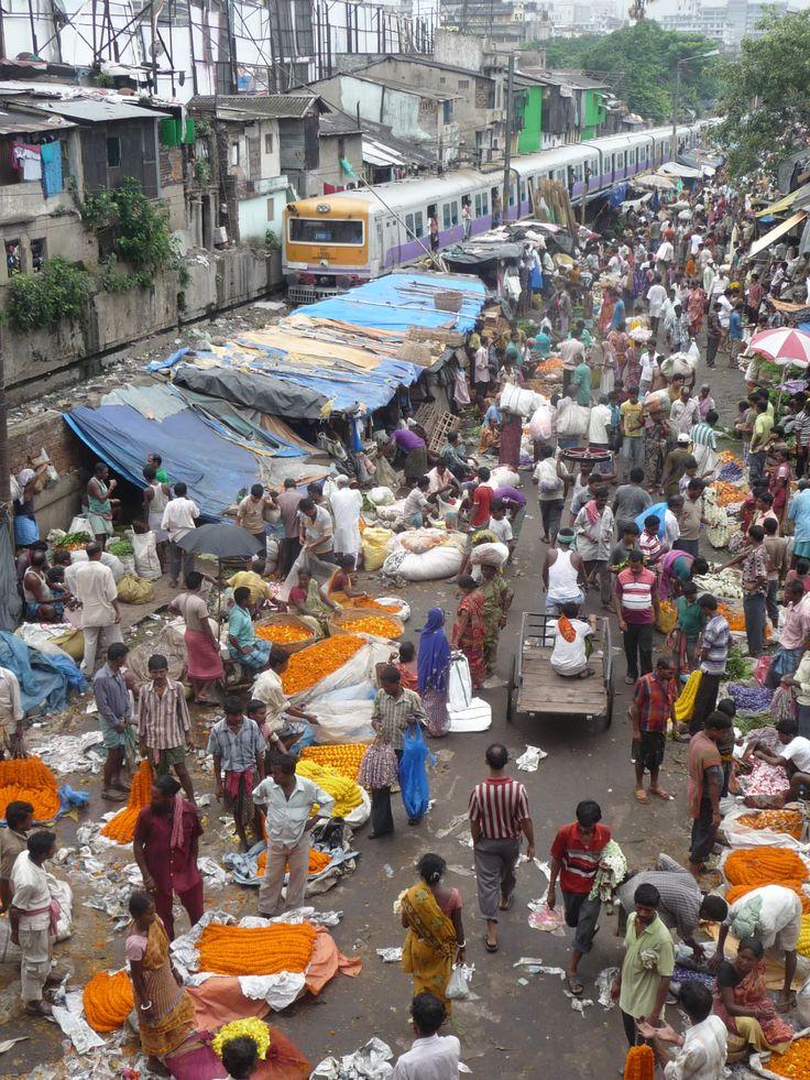 Blumenmarkt Kalkutta