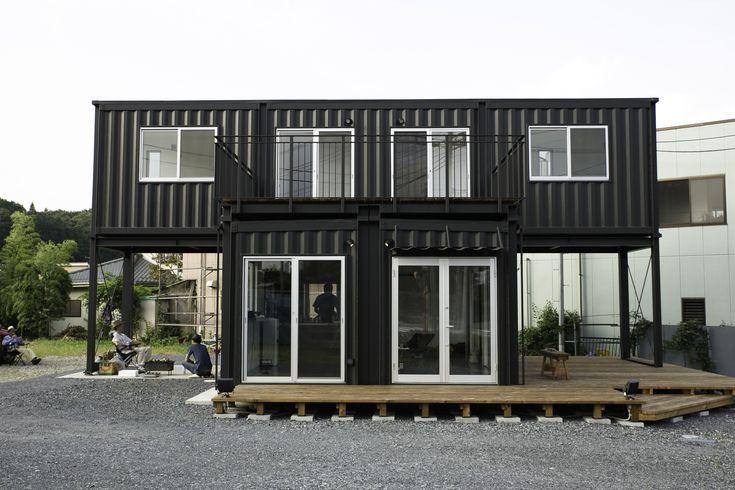 die besten 25 container wohnung ideen auf pinterest. Black Bedroom Furniture Sets. Home Design Ideas