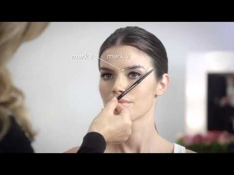How to Define Your Ideal Brow Shape with Brow Wiz by Anastasia Beverly Hills | Sephora - YouTube