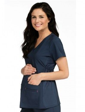 Med Couture Maternity Scrub Top #Maternity #MaternityScrubs #Scrubs #pregnancy #pregnancyscrubs