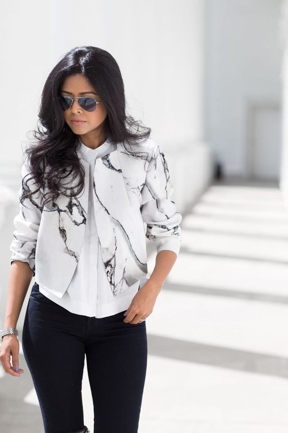 d492a8a244e6 Robert Rodriguez Carrara marble jacket – EVERYTHING MARBLE | Marble ...