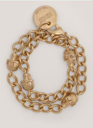 Alexander McQueenSkull chain bracelet