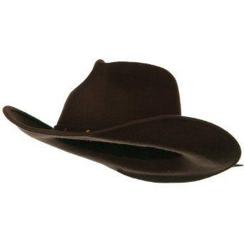 Faded Lady Wool Felt Cowboy Hat - Brown W27S44B: 2999 Hot, W27S44B 2999