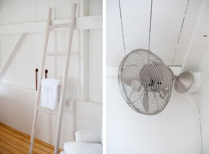 Wall Fan Instead Of Ceiling Fan?Before U0026 After: A Summer Cottage Reborn On  The Connecticut Coast   Remodelista