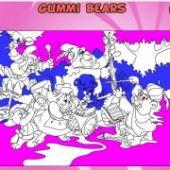 Раскраска мишки Гамми