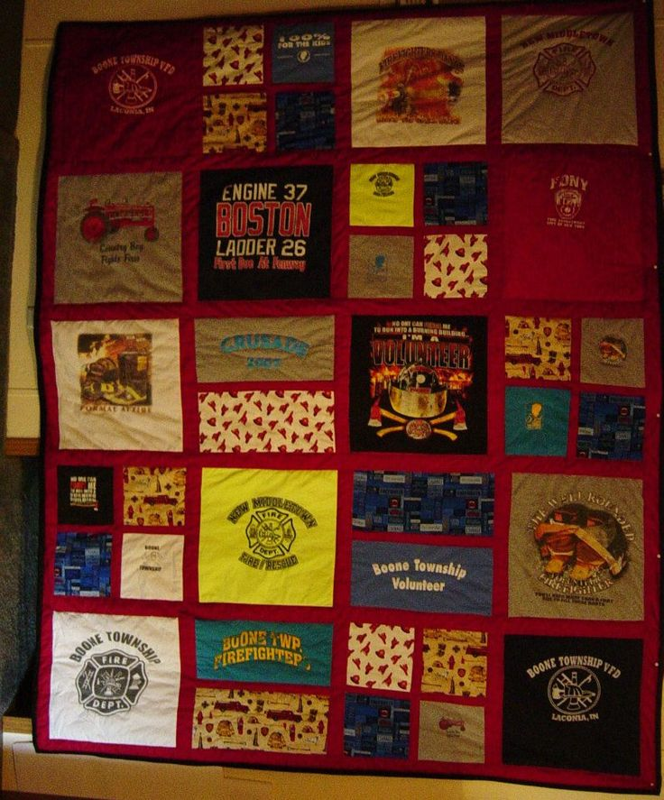 13 Best Images About Firefighter Quilts On Pinterest
