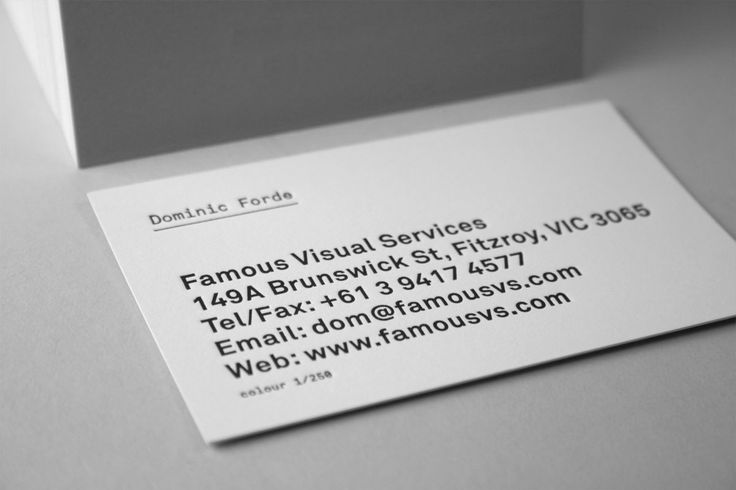 52 best business card images on pinterest carte de visite famous visual service zoom photobusiness cardslipsense reheart Choice Image