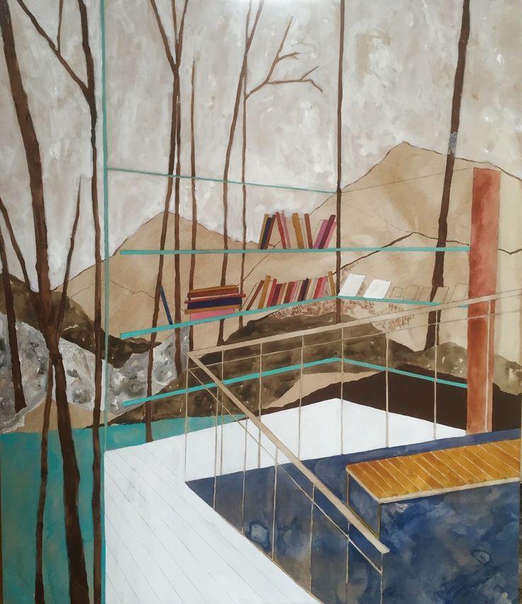 Charlotte Keates, Corner Seat, 2016   Porthminster Gallery