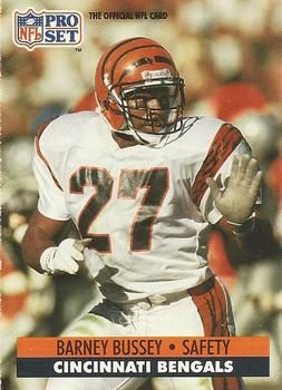 South Carolina State alum Barney Bussey spent several seasons as a safety with the Cincinnati Bengals.