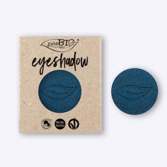 Recarga magnética de sombra de ojos Azul Metálico PUROBIO. Tono que da feminidad al maquillaje. Alta pigmentación, larga duración. El maquillaje de los profesionales. Ingredientes ecológicos. Envíos 24/48 horas. Península y Baleares. #MaquillajeNatural #Vegano #Purobio #Eyeshadow #Maquillaje #Belleza #BellezaNatural #Beauty