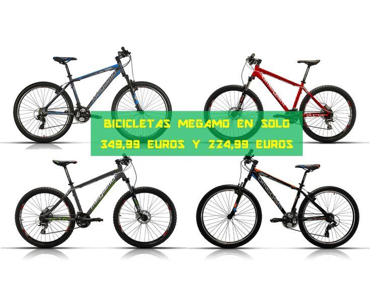 Ofertas bicicletas Megamo MTB en solo 349,99 euros y 224,99 euros