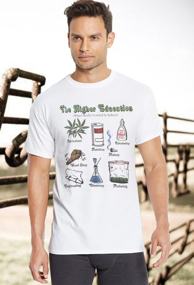 7130ab889 #funnyshirts New Fashion pot weed cannabis 420 tee shirts for men pot leaf  stoner Funny