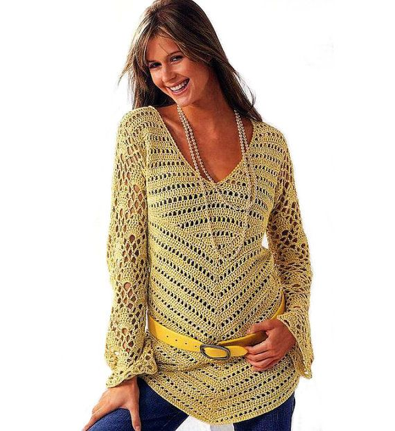 111 Best Crochet Tops Tunics Images On Pinterest Crochet Tops
