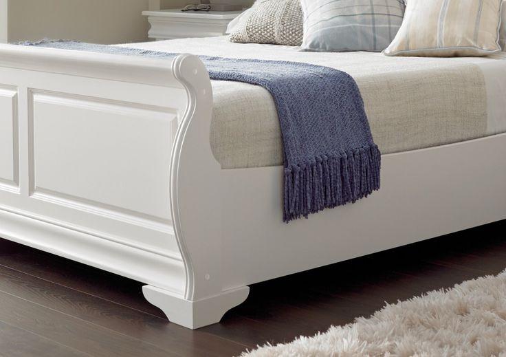 Bedding Louie Sleigh Bed White Wooden Sleigh Beds Wooden Beds Beds Sleigh Bed Crib Sets Sleigh Bed Crib Sleigh Bed King Size Oak Sleigh Bed Queen Parts Sleigh Bed Queen C Excellent Sleigh Bed