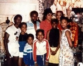 Mike with Family & Friends