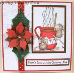 """""""Christmas cheer"""" by Tracy Thompson on House-Mouse Designs"""