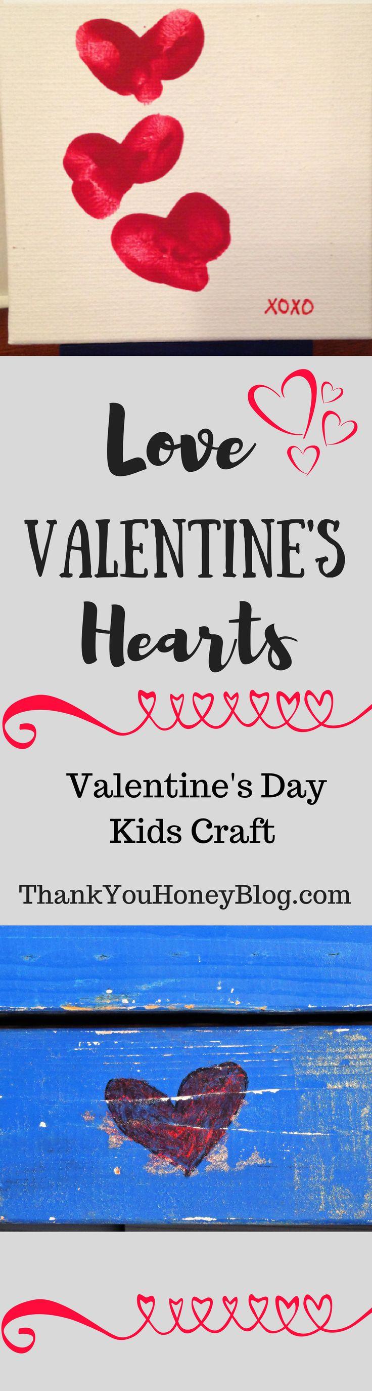 Love Valentine's Hearts, Valentine's Day, Craft, DIY, Kids, Valentine's Day Craft for kids, Love, Hearts, Love Valentines Hearts, Valentine's Kids Craft, Valentines, Kids Activity, Valentine's Day Craft