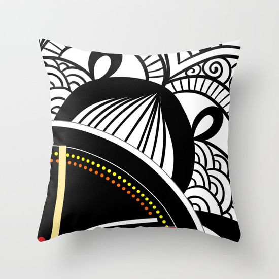 #Pillow cover #Jagannath  #Home  #decor #black #white