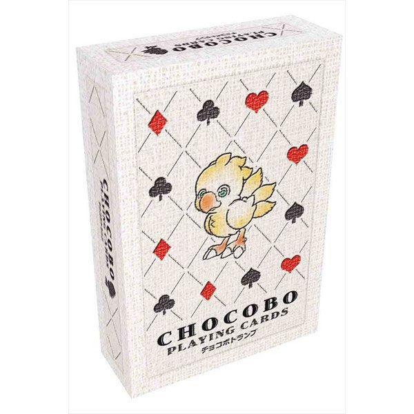 Chocobo Spielkarten