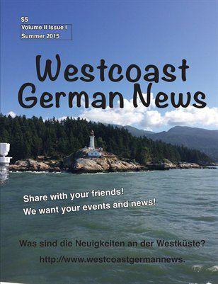 Westcoast German News: New Publication
