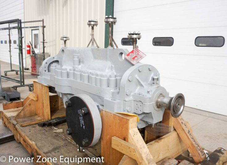 New Flowserve 6x11 DMX-A Horizontal Multi-Stage Centrifugal Pump Complete Pump For Sale - Stock No 58833