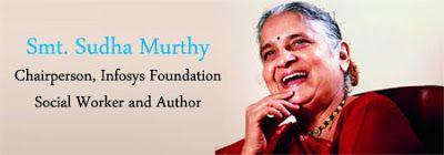 My Blog: Sudha Murthy on Infosys