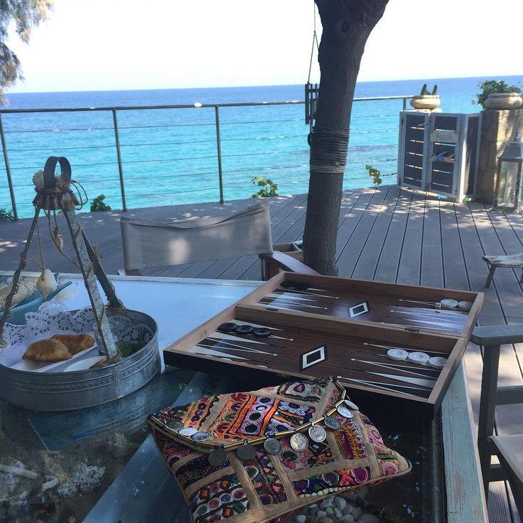 Not a bad start to September eh? 🇬🇷💙☀️ #view #sea #prints #lovesummer #beachlife #lovegreece