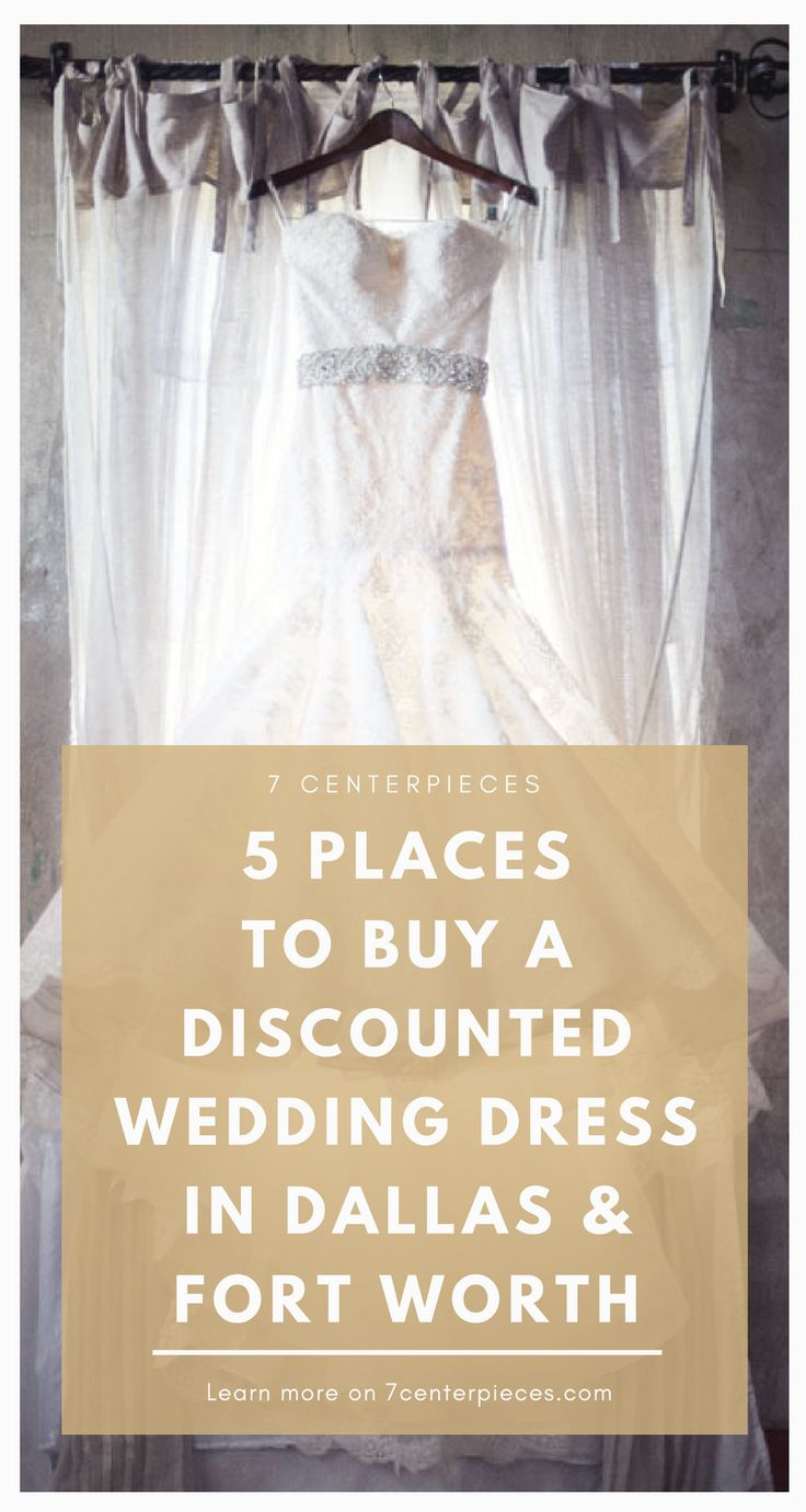 Looking for a cheap wedding dress? These bridal shops in Dallas and Fort Worth have wedding dresses under $500! PIN THIS NOW and be sure to check them out if you're in the area!