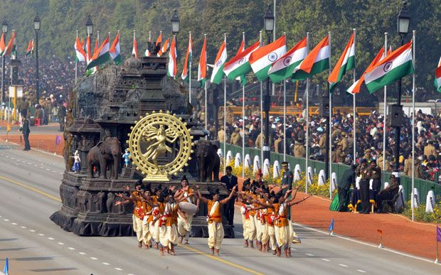 Parades across India as the country celebrates the 63rd Republic ...