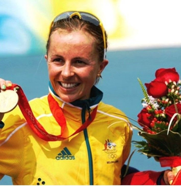 Australia's Emma Snowsill won the women's triathlon at the 2008 Beijing Olympics