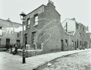 Gould's Hill, Shadwell 1921