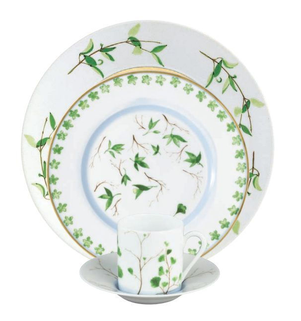 #Raynaud - Limoges #porcelain - Verdures collection designed by Christian Tortu
