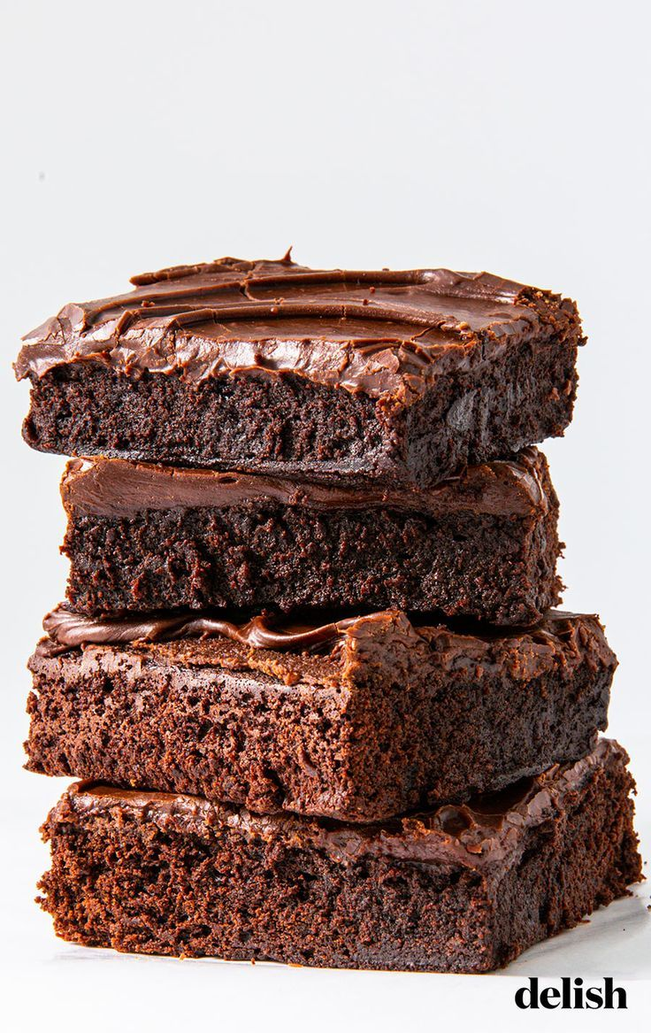 If You Think Brownies Should Be Cakey Not Chewy You Need To Try This Recipe Recipe Brownie Recipes Yummy Food Dessert Cakey Brownie Recipe