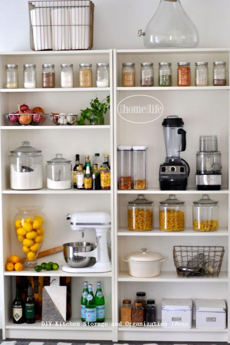 Insanely Sensible Diy Kitchen Storage Ideas Diykitchen House