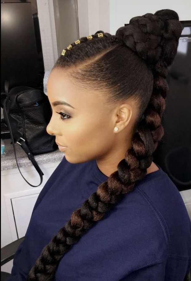 Afro hair style cheveux crepus tresse chignon curly hair cheveux afro  coiffure africaines Http/