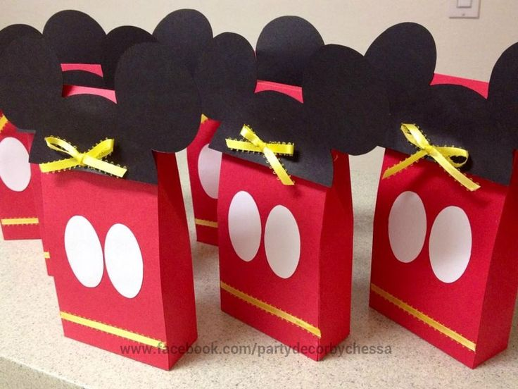 Mickey Mouse Goodie Bags Www Facebook Com