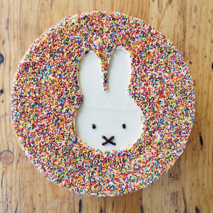 Sprinkle Miffy Cake